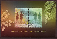 "NEW ZEALAND 2015 ""ANZAC-NZ/AUSTRALIA JOINT ISSUE""  FINE USED"