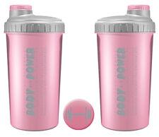 1 x Body-Power - Eiweiß-Shaker in Rosa für deinen leckeren Eiweiß Shake NEU NEU