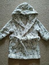 Next Baby Dressing Gown Robe 12-18 Months