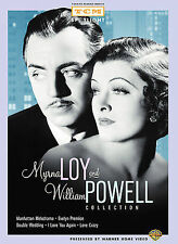 Myrna Loy and William Powell Collection (Manhattan Melodrama / Evelyn Prentice /