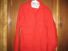 Boy Scout Leader Red Wool Jacket, size 38, 1960-70s        cu37