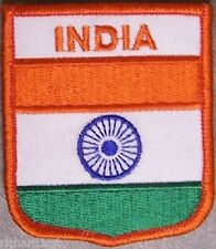 Embroidered International Patch National Flag of India NEW bunting