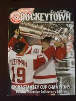 2002 DETROIT RED WINGS STANLEY CUP LIMITED EDITION PROGRAM EXC L@@K!
