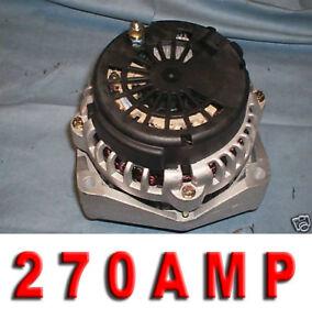 Cadillac Escalade Suburban Alternator Chev. Express, GMC Savana 270 HIGH AMP