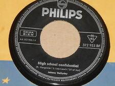 "JOHNNY HALLYDAY -High School Confidential- 7"" 45"