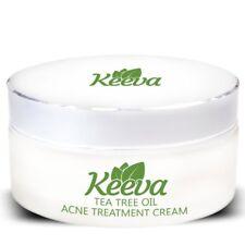 Keeva Organics Tea Tree Oil for Acne Treatment 1 Step Natural Formula