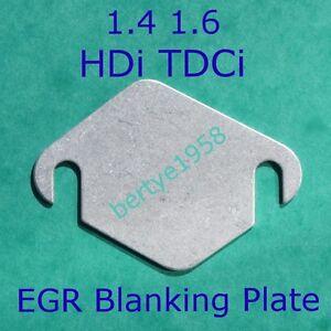 EGR Blanking Plate Peugeot Citroen HDi Ford TDCi Volvo D 1.4 1.6 Mazda blank A