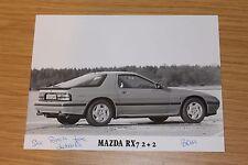 Mazda RX7 2+2 Rotary Sports Original Press Photographs
