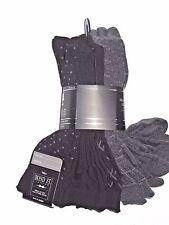 Bond St. of London England men's Black & Grey dress SOCKS  lot of 7 pair