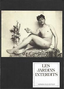 LES JARDINS INTERDITS - Portefoliot - Editions Herman Puig - 1985