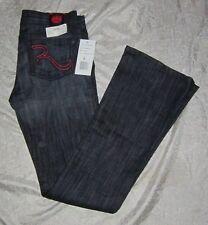 ROCK & REPUBLIC Women's KASANDRA FREQUENCY Jeans Size 26 Dark Blue Denim 30 x 32