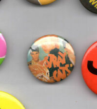 Stray Cats  -  Rockabilly  Music  - Button Badge 1970's
