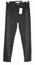 Topshop Black L30 Jeans for Women