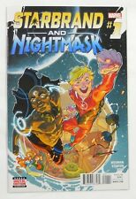 Marvel Comics Starbrand & Nightmask #1 (2016)