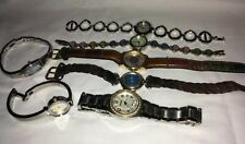 Lot of 7 Men's & Women's WATCHES - Bulova, Fossil, Orvis & Others.