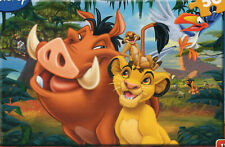 THE LION KING, SIMBA & PUMBA 50 pcs JIGSAW PUZZLE FOR AGE 4 PLUS. BRAND NEW