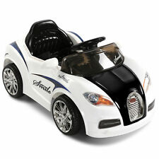 Kids Electric Ride on Car Bugatti Style Children Sports Toys 2 Speed Remote 12v