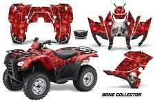ATV Graphics Kit Decal Sticker Wrap For Honda Rancher AT 2007-2013 BONES RED