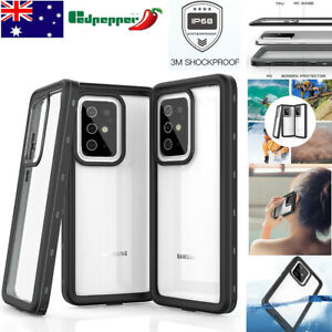 For SamSung Galaxy S20+  Waterproof Shockproof Full Protection Clear Case Cover
