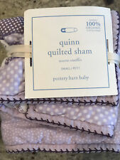 Pottery Barn Kids Quinn Quilted Small Deco Pillow Sham New