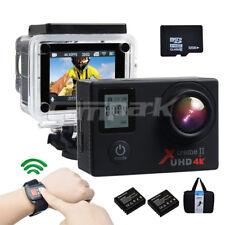 32GTF Campark HD 4K/30fps WIFI Sports Action Camera DVR Cam w/ Remote Control AU