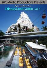 Disneyland Classics Vol 1 DVD Submarine Voyage, Peoplemover, Skyway, Motor Boat