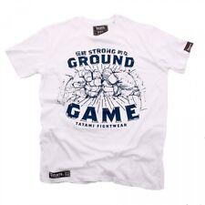 NEW! Tatami Strong Ground Game T-Shirt BJJ Brazilian Jiu Jitsu Casual No Gi Gym
