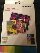 "Polaroid 6 x 4"" PREMIUM Gloss Photo Paper for Inkjet printers."