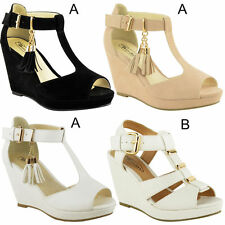 Block Platform, Wedge Casual Shoes for Women