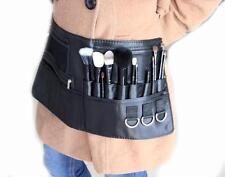 Professional Cosmetic Makeup Brush Holder Bag Artist Belt Strap For Dresser