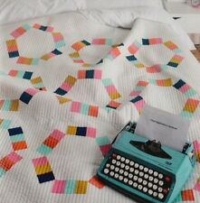 Taffy Pull Quilt - foundation paper pieced quilt PATTERN - Pen & Paper Patterns