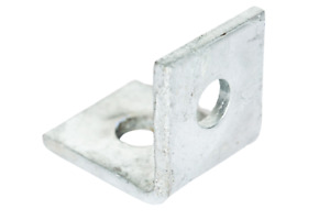 Angle Brackets | L Brackets Hot Dipped Galv (HDG) for Unistrut / Slotted Channel