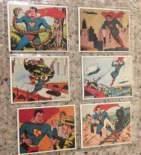 Superman Gum Limited Edition 1984 Complete Reprint Set EX-MT