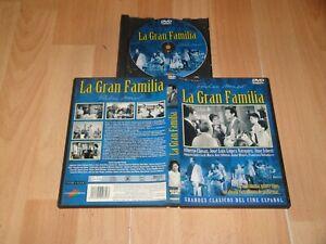 LA GRAN FAMILIA EN DVD CLASICO CINE ESPAÑOL UN FILM DE PEDRO MASÓ EN BUEN ESTADO