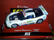 NEW SCX Digital Corvette C6R White #72 Valeo in factory case REDUCED