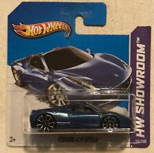 Hot Wheels Ferrari 458 Spider Int. Short Card HTF