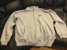 Womens Reebok Grey Sports Jacket Top (Size: S)