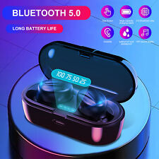 Bluetooth 5.0 Headsets TWS Wireless Earphones Mini Earbuds Mic Stereo Headphones
