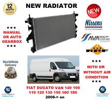 FOR FIAT DUCATO BOXVAN 140 100 110 120 130 150 160 180 2006> RADIATOR OE QUALITY