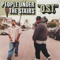 People Under The Stairs - O.S.T. (2LP Vinyl) OG US 1st Press 2002 INSANELY RARE!