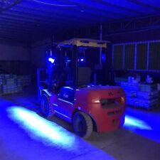 2 Pcs LED Forklift Truck Blue Line Warning Lamp 30W Safety Working Light 10-80V