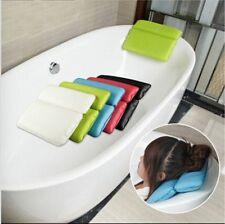 New Haptor Non-Slip Spa Bath Tub Waterproof Pillow Shoulder Neck Support Pillows