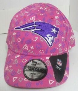 Patriots New England Infant Hat Girls NFL New Era Pink  Funzzz  Cap