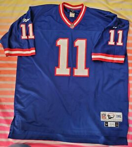 Authentic Vintage New York Giants Phil Simms jersey Throwback NFL Reebok  XXL XL