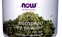 56g now foods solutions european clay powder facial detox 100% pure **(in bag)**