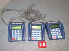 3x School Link Technologies Cafeteria Point Of Sale Cash Register card reader