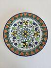 "Jerusalem Old City Armenian Vintage Hand Painted Decorative Plate. 10.5"""