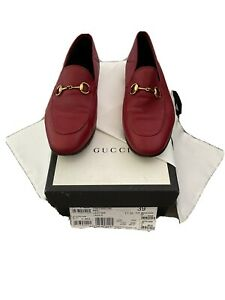 Gucci Brixton Loafer Red 39/6