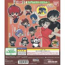 RANMA 1/2 - 30th Anniversary -  6 Figures - GASHAPON - New BANDAI - VERY RARE