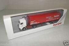 """Herpa 1:87  822054 Scania 143M Koffer-SZ """"Motor Sport Herpa"""" OVP(EH3696)"""
